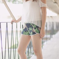Pineapples Woven Shorts