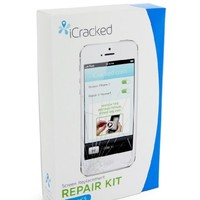 iCracked iPhone 5 Screen Replacement Kit (AT&T/Verizon/Sprint/T-Mobile) - Retail Packaging - White