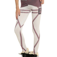 Attack On Titan Scout Costume Leggings