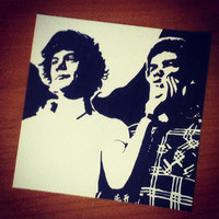 Harry Styles and Liam Payne Pop Art