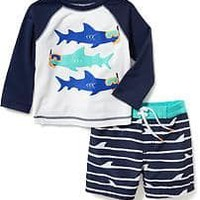 2-Piece Rashguard Set for Baby | Old Navy