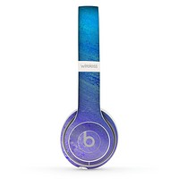 The Pastel Blue Surface Skin Set for the Beats by Dre Solo 2 Wireless Headphones