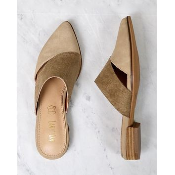 Epic   Two-Toned Pointed Business Mule