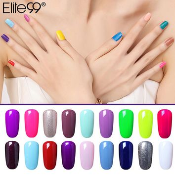 Elite99 Gel Nails Nagellak UV Lamp Soak off Gel Polish Nail Gel Color 1pcs Vernis a ongle Nail Varnish Acrylic Paint Polish