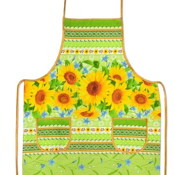 "Kitchen apron ""Sunflowers"""