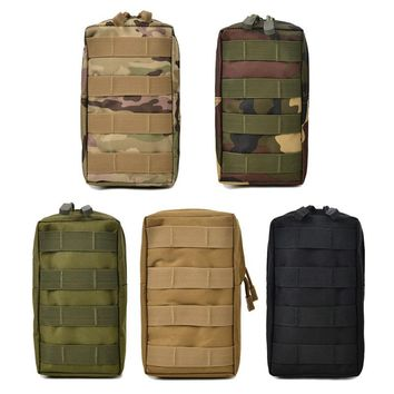 Airsoft Sports Military 600D MOLLE Pouch Bag Utility Tactical Bags Vest Gadget Hunting Waist Pack Outdoor Equipment