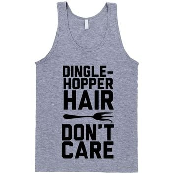 The Little Mermaid Shirt Dinglehopper Hair Dont Care Unisex Misses and Plus size tee or Tank Top