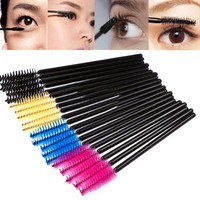 Multi-color Disposable Eyelash Extension Brush Mascara Wands Applicator Cosmetic