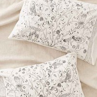 Plum & Bow Folk Animal Pillowcase Set