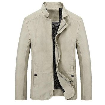 Casual Slim Fit Coat
