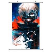 A Wide Variety of Tokyo Ghoul Anime Characters Wall Scroll Hanging Decor (Kaneki Ken 1)