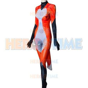 Custom Made Rena Rouge Miraculous Ladybug Cat Noir Cosplay Costume 3D Print Halloween Party Zentai Suit Lycra Spandex Bodysuit