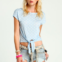 DOTTED JERSEY TEE