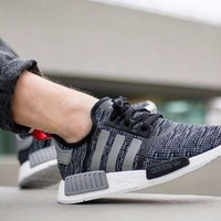 ADIDAS NMD R1 GLITCH PACK DARK GREY BB2884 BRAND NEW IN BOX ALL SIZES AVAILABLE