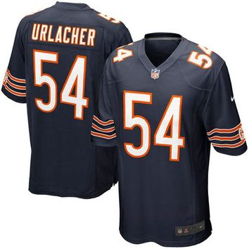 Mens Chicago Bears Brian Urlacher Nike Navy Blue Game Jersey