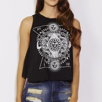 Into The Sun and Moon Tank - WOMEN - Foreign Exchange