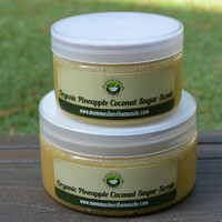 Pineapple Coconut Sugar Scrub