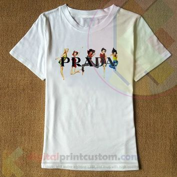 Prada Spice Girl T-shirt By Digitalprintcustom