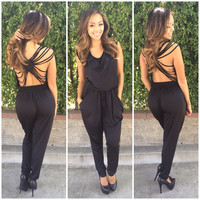 Captive Jumpsuit - Black