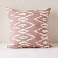 Alyssa Mauve Ikat Pillow