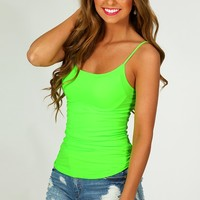 The Softest Tank: Neon Lime - What's New