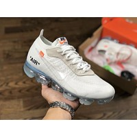 OFF-WHITE x Nike Air VaporMax 10X White Size:40-45