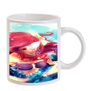 Gift Mugs | Ariel Mermaid Ceramic Coffee Mugs