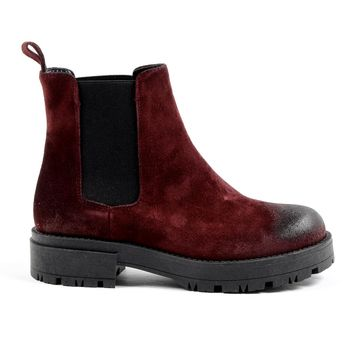 V 1969 Italia Womens Ankle Boot Bordeaux Zara