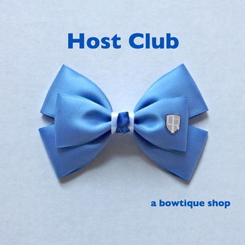 host club hair bow