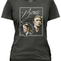 DAVID BOWIE - BOWIE VISION JUNIORS TEE