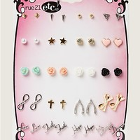 Faith & Dreams Earring 20-Pack | Earrings | rue21