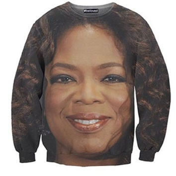 Beloved Shirts Oprah Winfrey Crew Neck Sweater