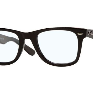 Ray-Ban Optical 0RX5121 47 Shiny Black Unisex Glasses