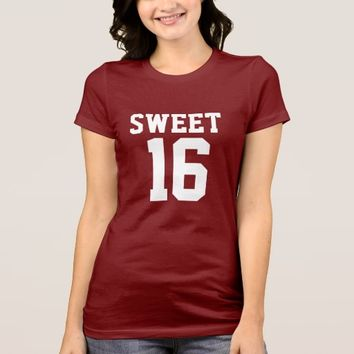 Sweet 16 - Girls T-shirt
