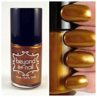 Deep Bronze Pearl Nail Polish