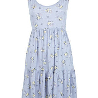 Ditsy Print Dress - Dresses  - Apparel