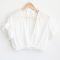 Willa Top - White