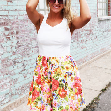 Sweet Pea Flare Dress