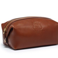 Travel Dopp Kit | Holdall No. 101 Vintage Chestnut Leather | Ghurka