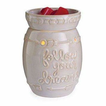 Jewelry Wax Melt Warmer - Follow Your Dreams