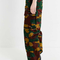 Vintage Straight-Leg Camo Pant | Urban Outfitters