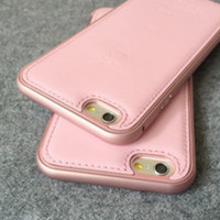 Pink Black Leather Phone Cases for Iphone 6 / Iphone 6 Plus-04105