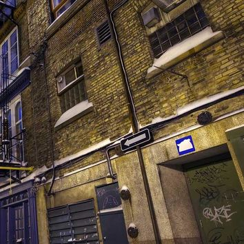 Photography Backdrop - Alley At Night - 104