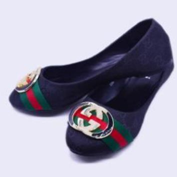 Gucci Women Fashion Shoes Fashion Women Shoes Comfort flat shoes Black