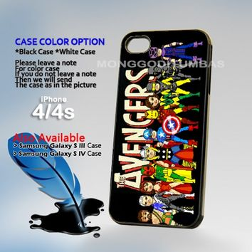 Avengers, Photo On Hard Plastic iPhone 4 4S Case