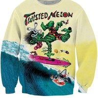 Twisted Melon Crewneck Sweatshirt