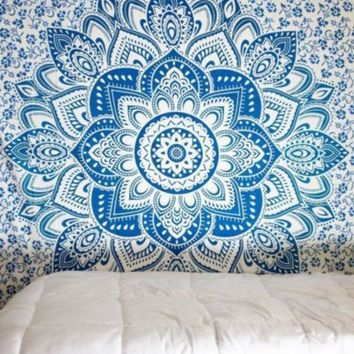ac PEAPON On Sale Bedroom Comfortable Hot Deal Home Bohemia Style Beach Scarf Decoration Bed Sheet [10014501132]