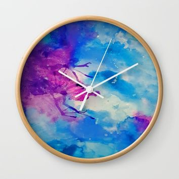 Emanate Wall Clock by DuckyB