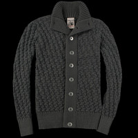 UNIONMADE - sns herning - Stark Cardigan in Grey Zone