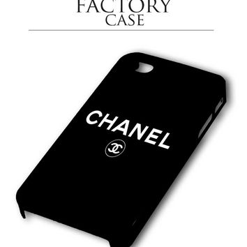 Chanel black iPhone for 4 5 5c 6 Plus Case, Samsung Galaxy for S3 S4 S5 Note 3 4 Case, iPod for 4 5 Case